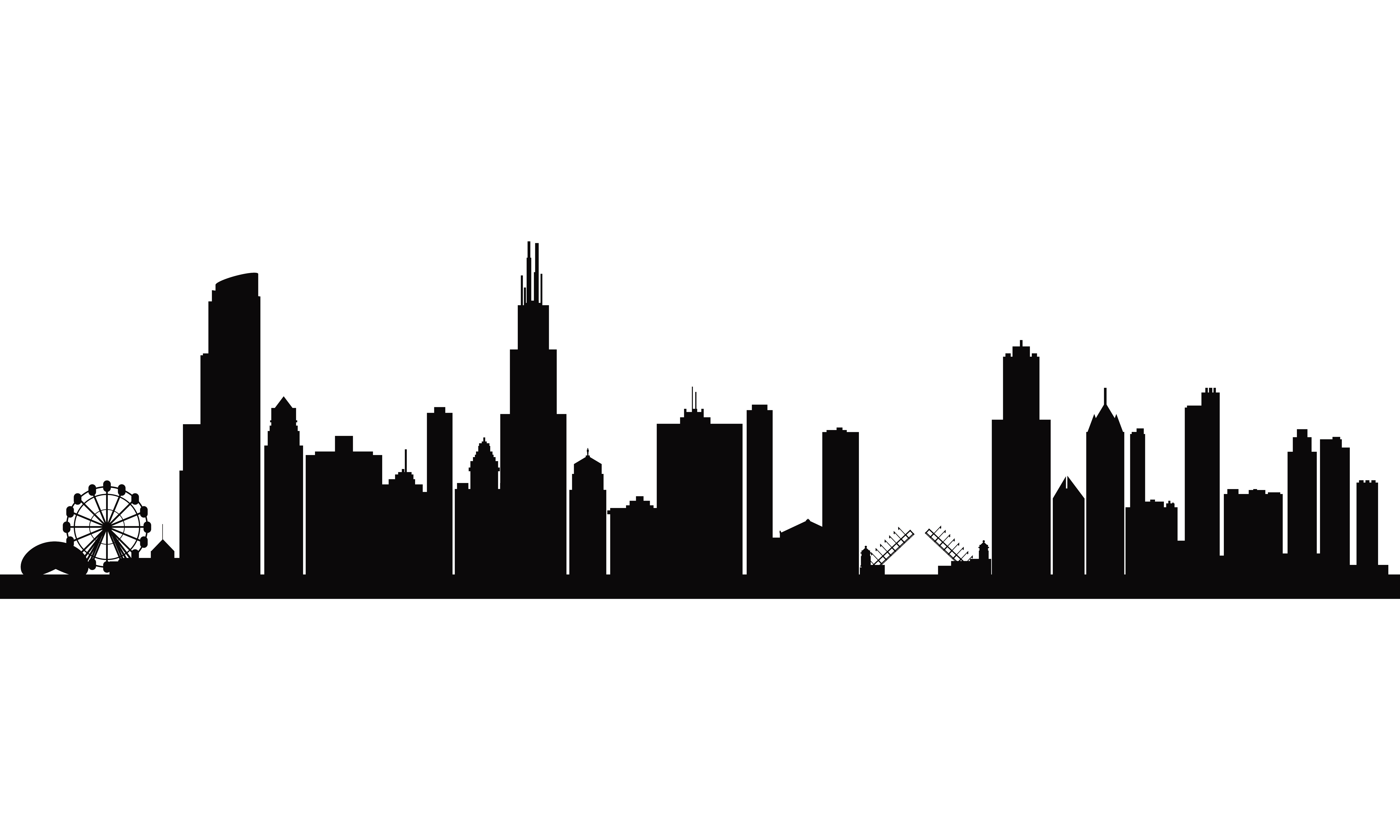Atlanta black and white clipart clipart black and white Atlanta Skyline Vector Free at GetDrawings.com | Free for personal ... clipart black and white