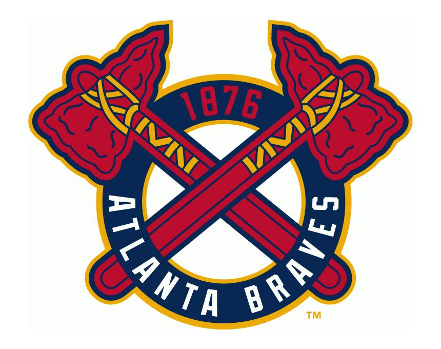 Braves baseball clipart graphic library download Atlanta Braves Logo PNG Transparent & SVG Vector - Freebie Supply graphic library download