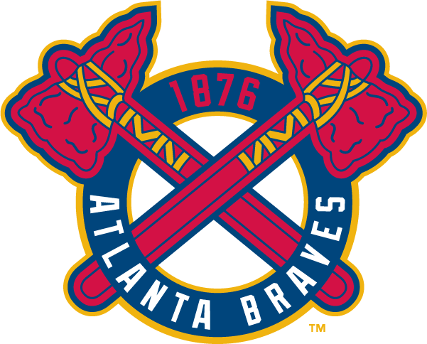 Atlanta braves tomahawk clipart png library library Atlanta Braves 1876 transparent PNG - StickPNG png library library