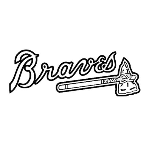 Atlanta braves tomahawk clipart clipart MLB Atlanta Braves Die Cut Vinyl Decal PV982 | Car & Truck Window ... clipart