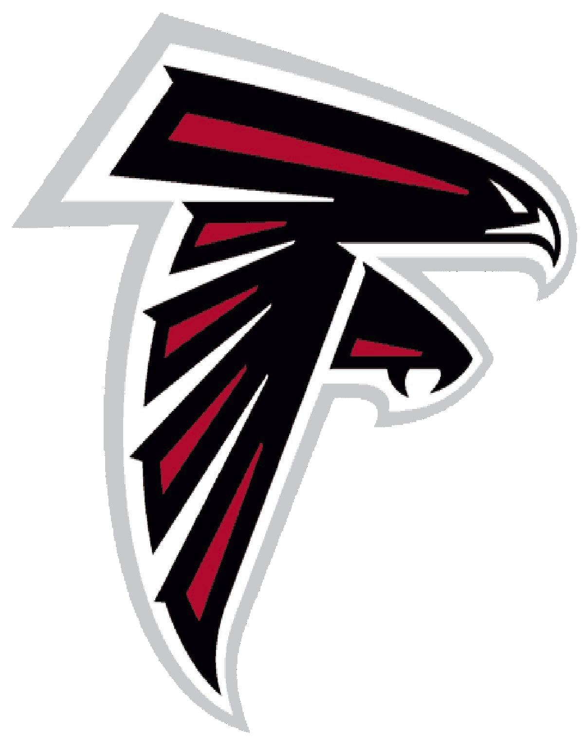 Atlanta falcons football clipart