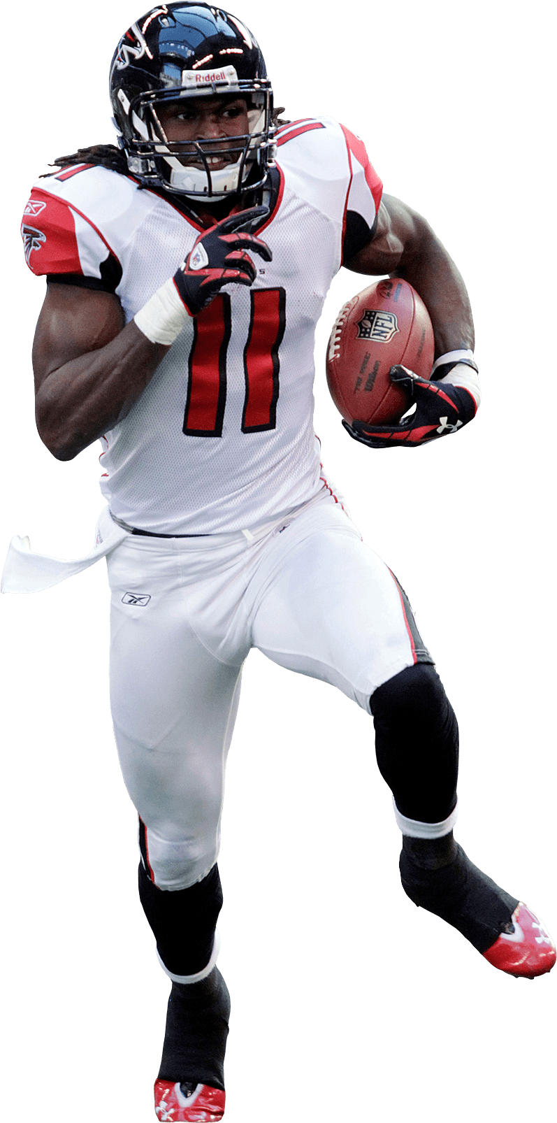 Atlanta falcons football clipart clipart freeuse stock Julio Jones 11 Atlanta Falcons transparent PNG - StickPNG clipart freeuse stock