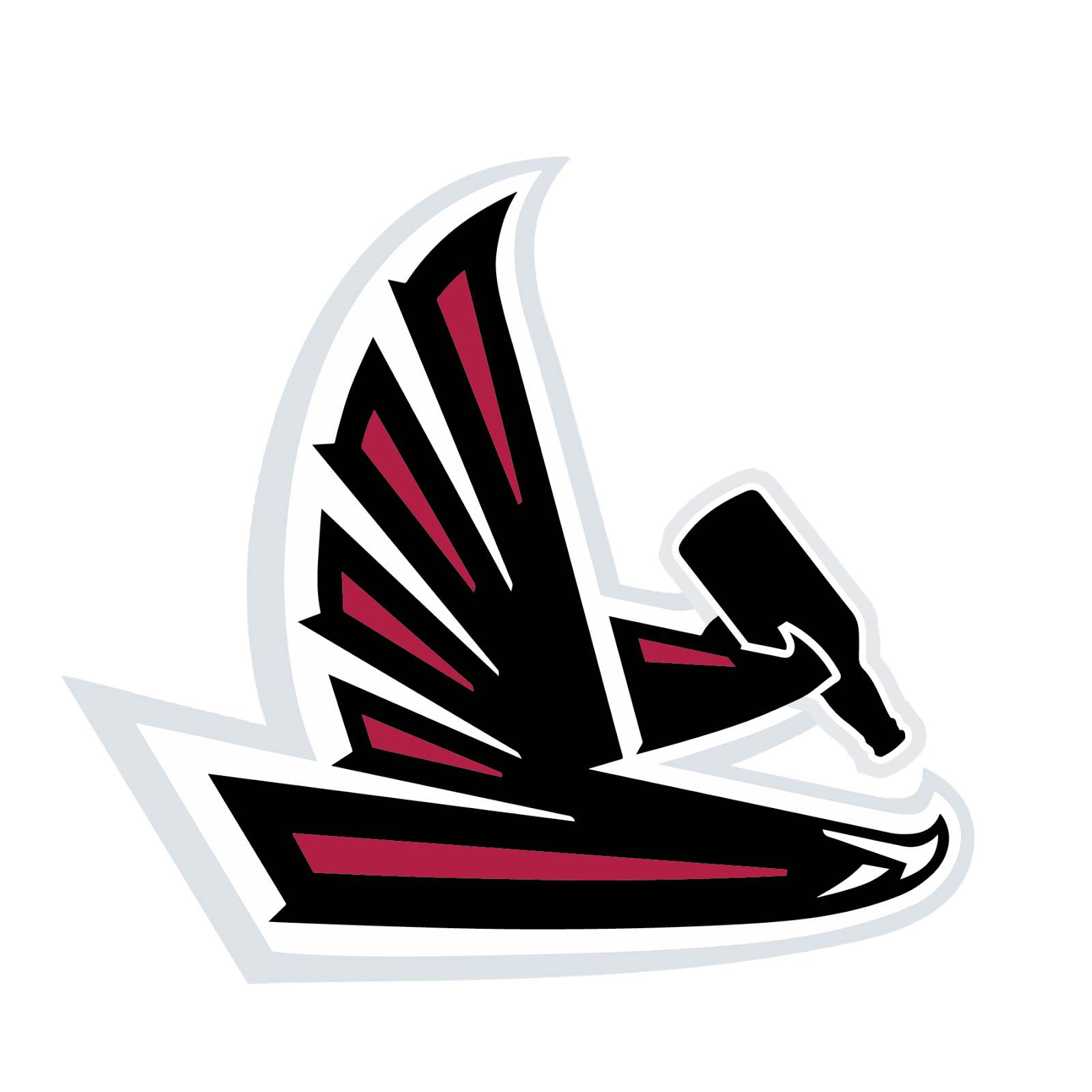 Atlanta falcons football clipart freeuse library Gotta play the Saints twice every year better start drinking to ... freeuse library