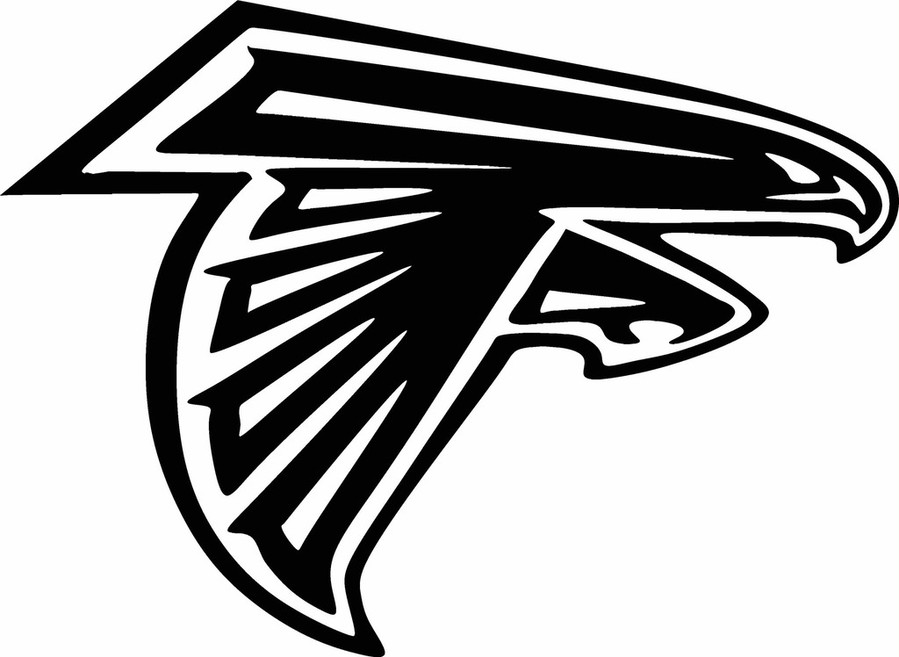 Atlanta falcons logo clipart svg black and white stock Nfl, Black, Text, Font, Technology, Line, Design, Graphics, Wing png ... svg black and white stock