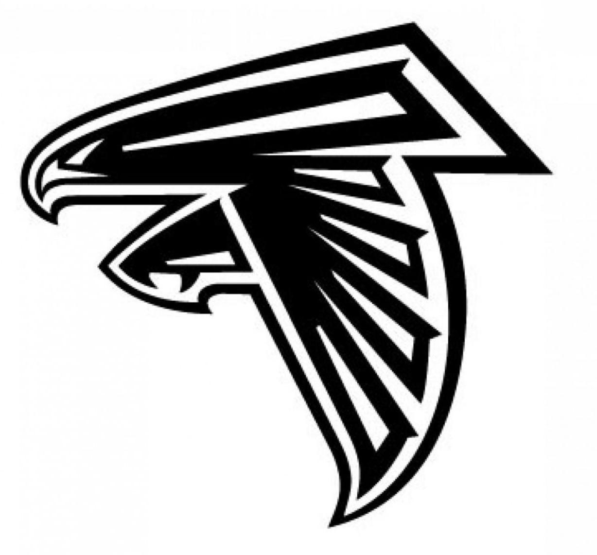 Atlanta falcons logo clipart svg royalty free stock Best 15 Top Atlanta Falcons Logo Printable Vector Photos Library svg royalty free stock