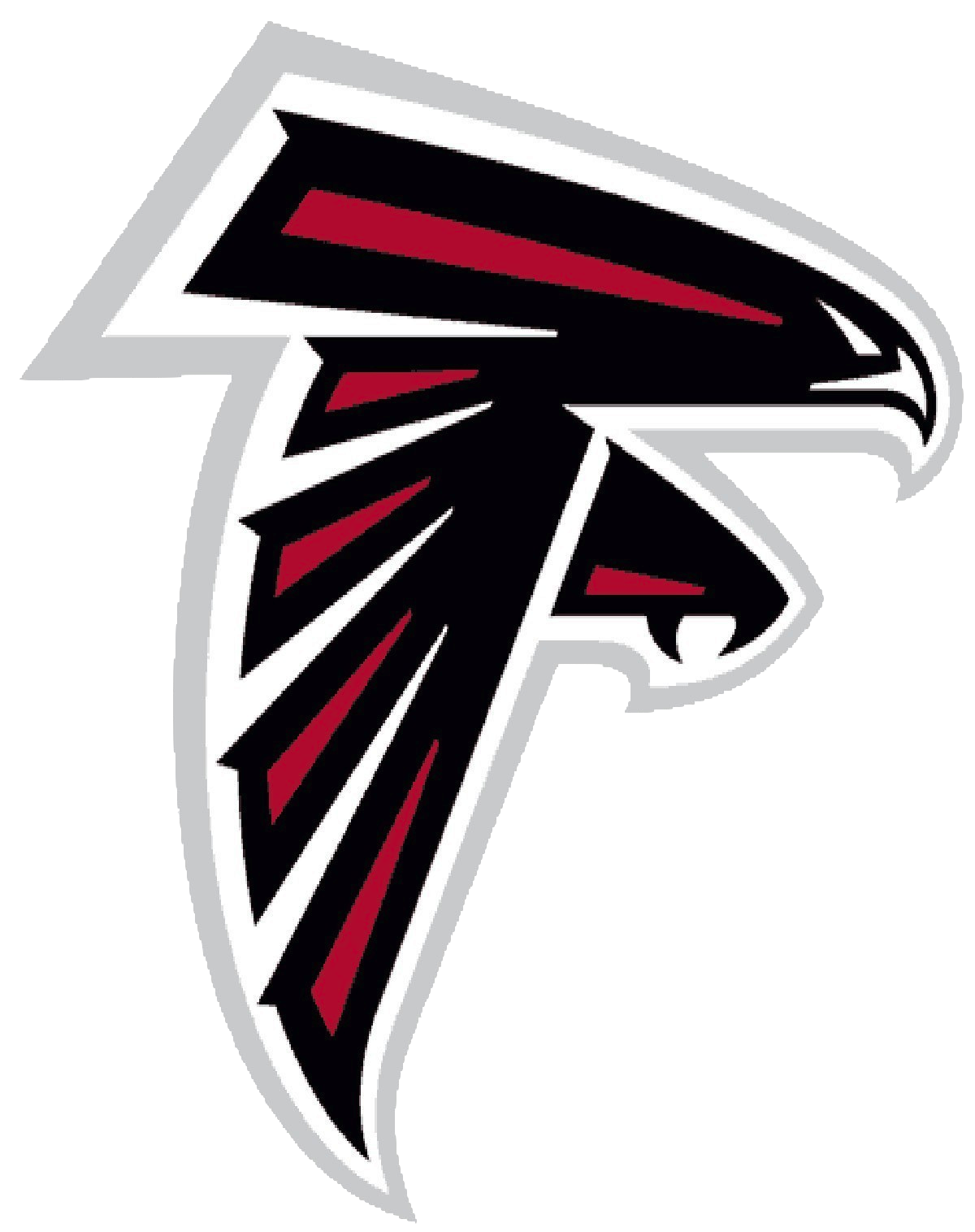 Atlanta falcons logo clipart picture black and white stock images of the ATLANTA FALCONS football logos | Atlanta Falcons ... picture black and white stock