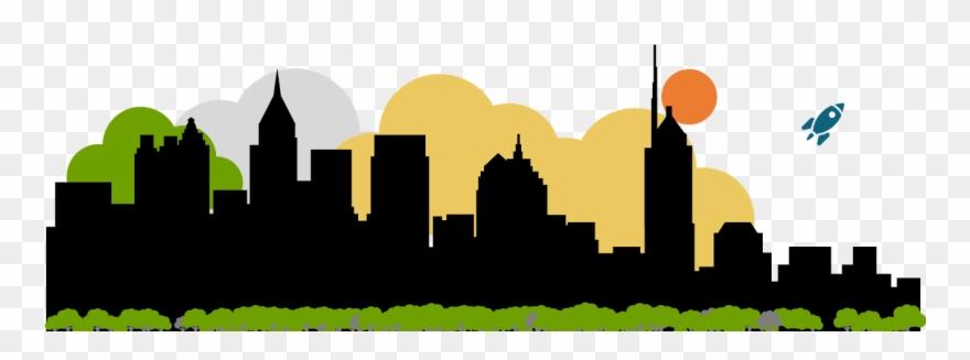 Atlanta skyline clipart jpg royalty free Rewarding Risk Done Righttm - Atlanta Skyline Silhouette Clipart ... jpg royalty free