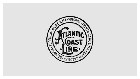 Atlantic coastline railroad logo clipart svg transparent library Railroad company logo design evolution svg transparent library