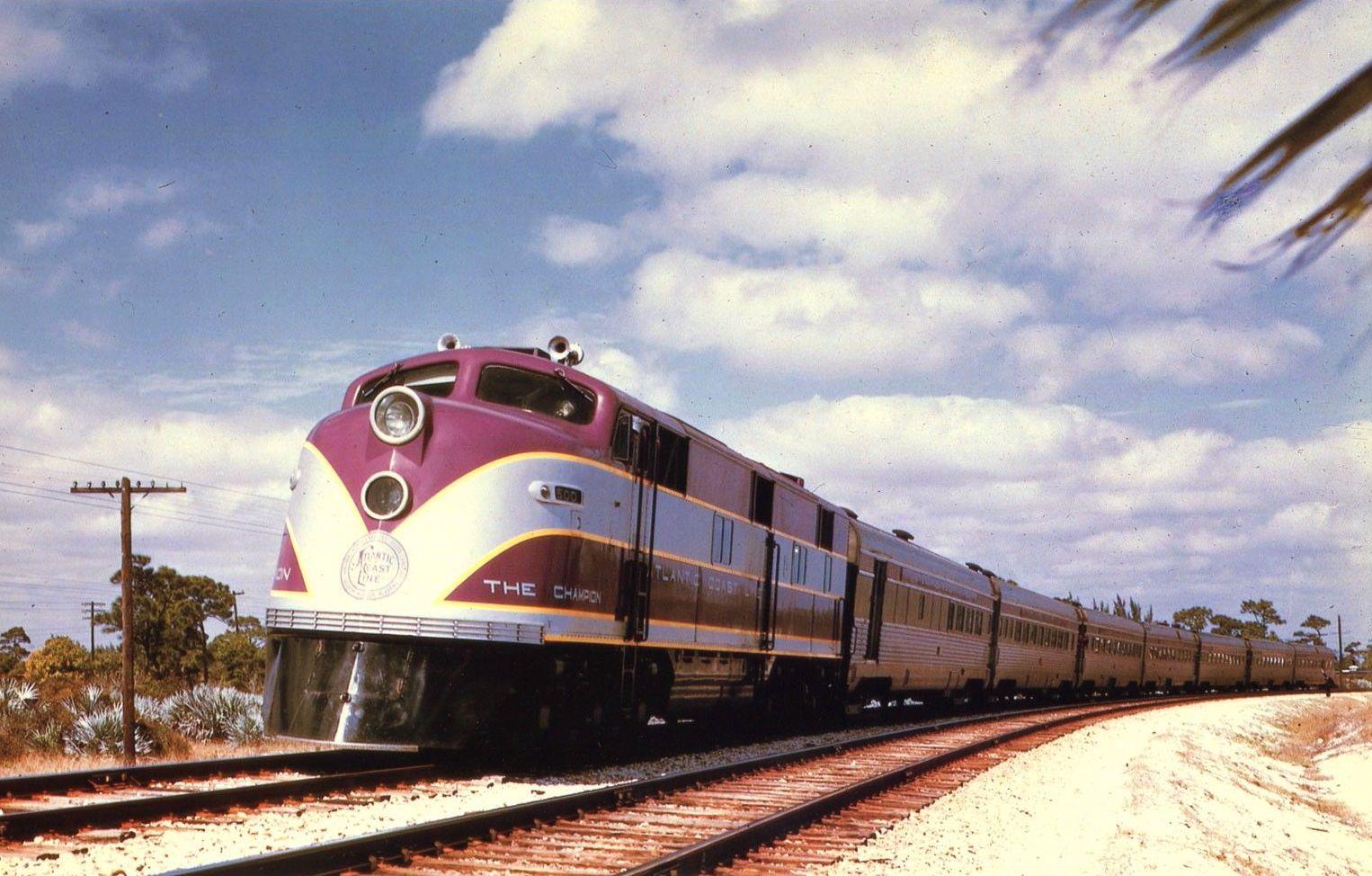 Atlantic coastline railroad logo clipart clip royalty free library Atlantic Coast Line\'s \