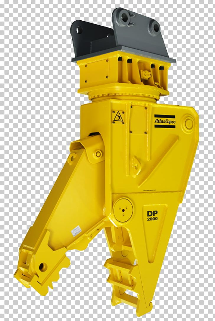 Atlas copco clipart image library download Atlas Copco Heavy Machinery Excavator Breaker PNG, Clipart, Angle ... image library download