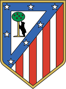 Atletico madrid logo clipart