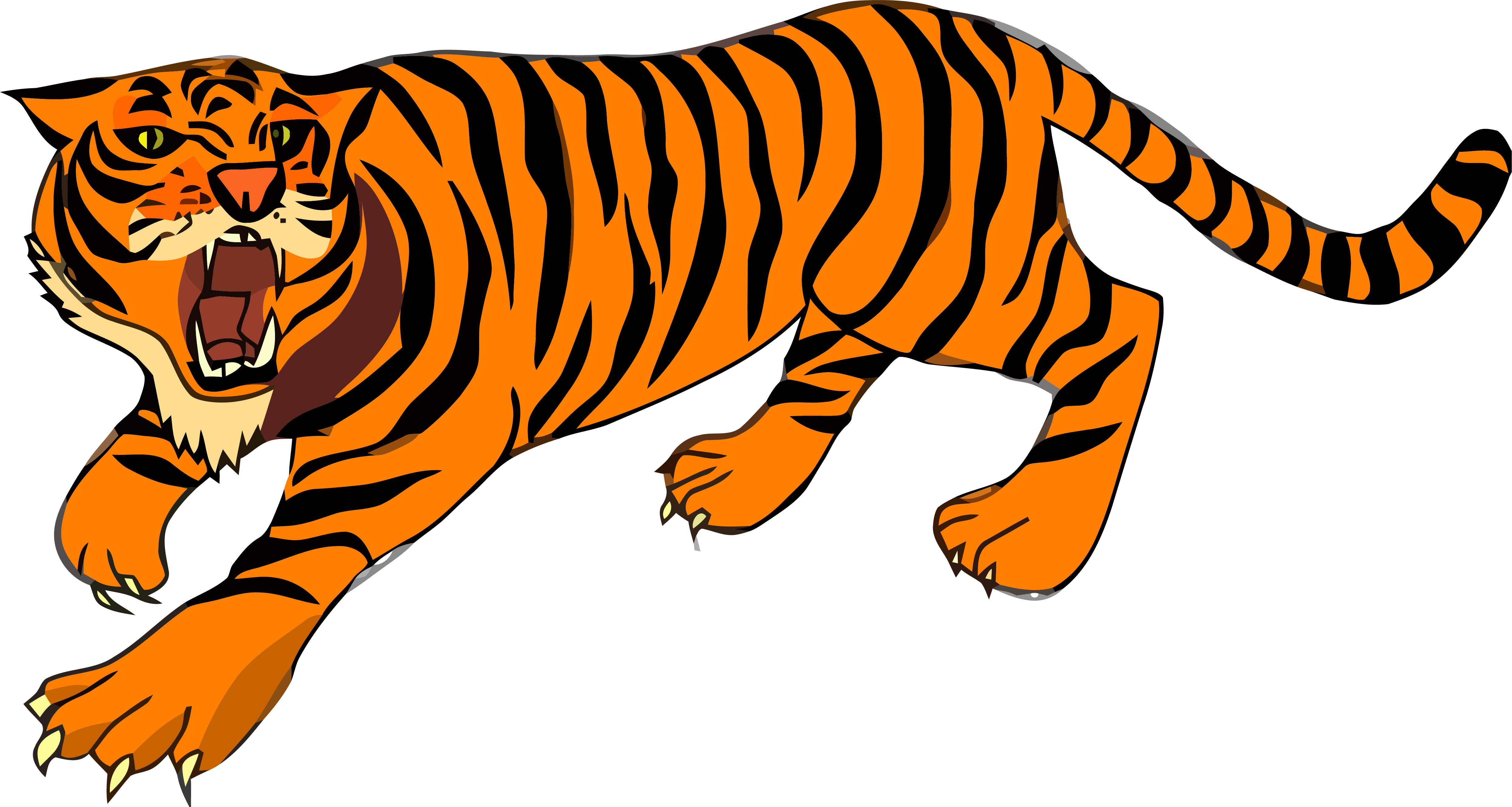Attacking cat clipart clipart freeuse download Wild Attack Tigger Clipart Png Image Download | Clipartly.com clipart freeuse download