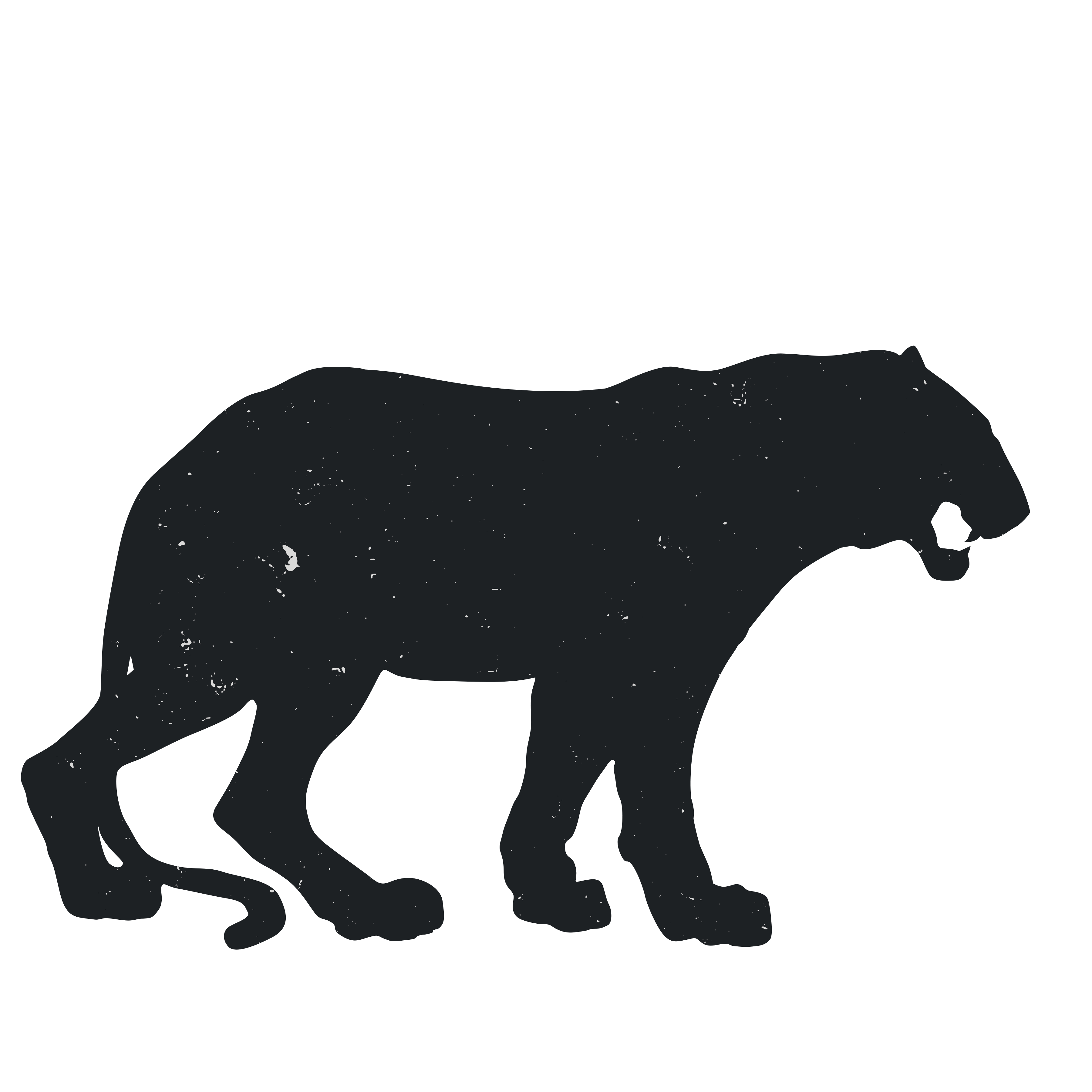 Attacking cat clipart image download Tiger Silhouette Images at GetDrawings.com | Free for personal use ... image download