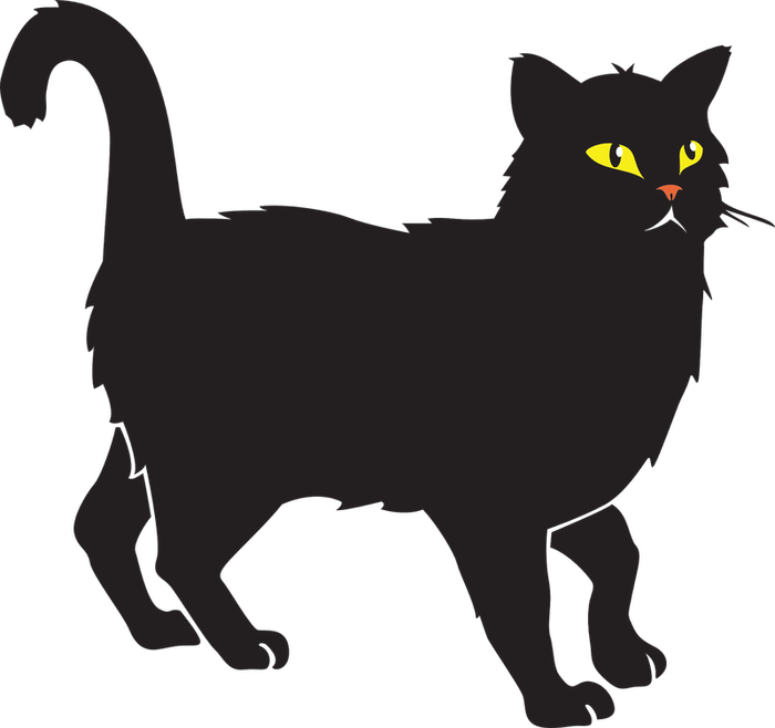 Attacking cat clipart vector free library Halloween Cats for Halloween Clipart | HubPages vector free library
