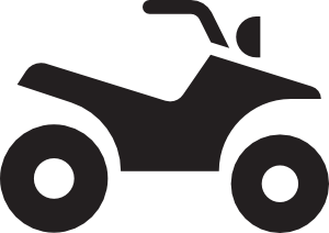 Atv clipart black and white jpg freeuse library Atv White Clip Art at Clker.com - vector clip art online, royalty ... jpg freeuse library