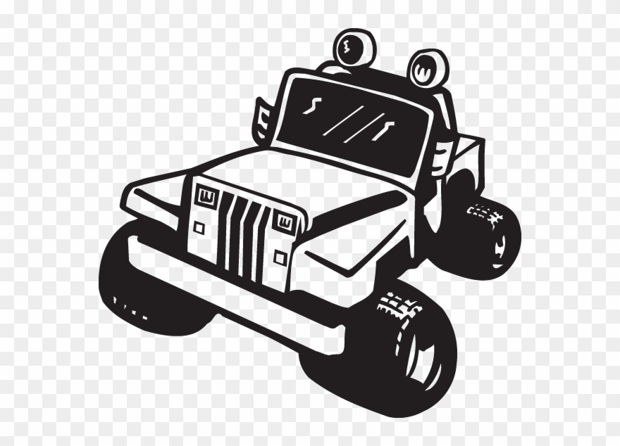 Atv clipart black and white png transparent library Png Atv Clipart Muddin - Jeep Vector Clipart Black And White ... png transparent library