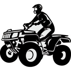 Atv front images clipart vector library library Free ATV Silhouette Cliparts, Download Free Clip Art, Free Clip Art ... vector library library