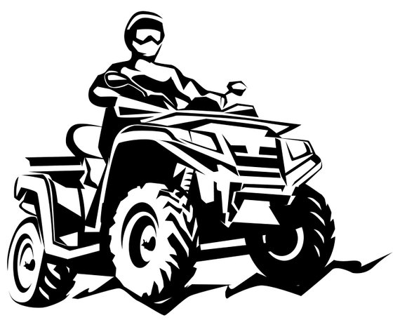 Atv front images clipart vector freeuse library Collection of Quad clipart | Free download best Quad clipart on ... vector freeuse library