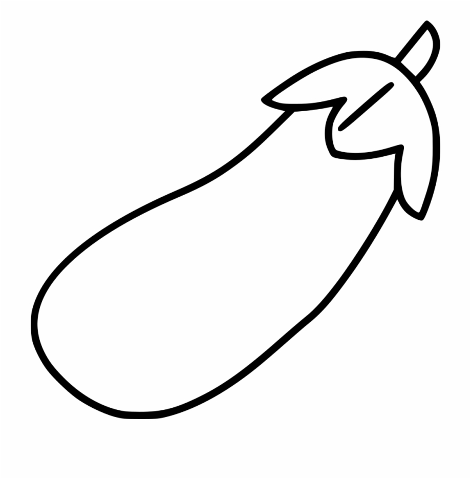 Brinjal clipart black and white png library download Png File Svg - Eggplant Png Black And White Free PNG Images ... png library download