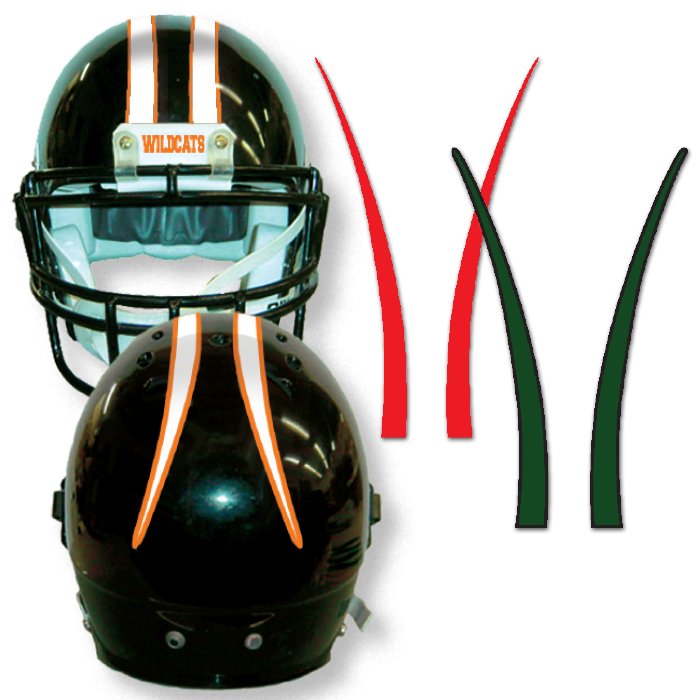 Panthers football helmet clipart clipart free Stripes for your football helmets! Helmet tape, imprinted stripes ... clipart free