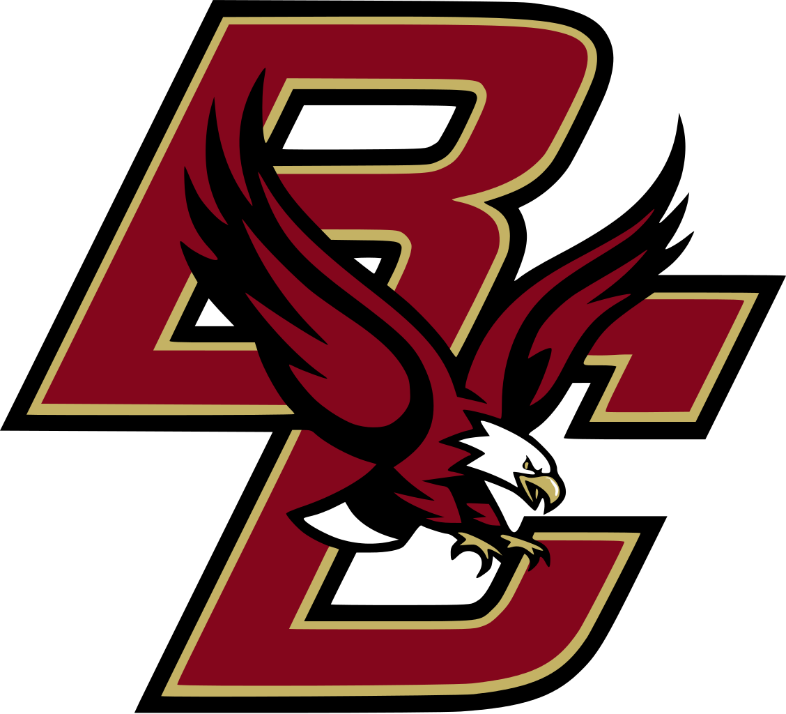 Eagle with football clipart. Boston college eagles ncaa