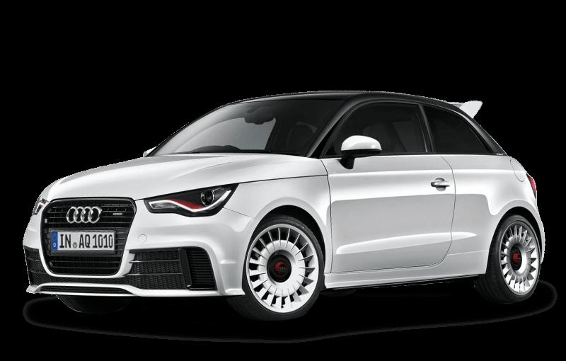 Audi car clipart free White Audi A1 transparent PNG - StickPNG free