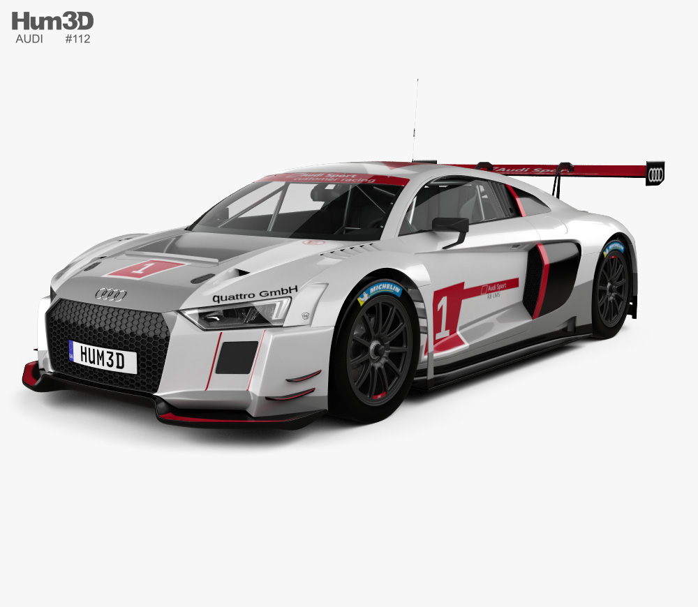 Audi r8 lms ultra clipart png royalty free download Audi R8 LMS 2016 3D model png royalty free download