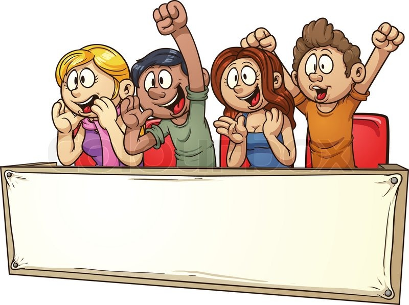 Audience clipart meeting hands jpg transparent stock People Cheering Clipart   Free download best People Cheering Clipart ... jpg transparent stock