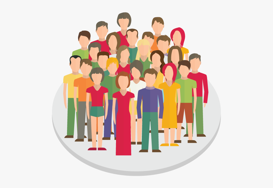 Audience clipart meeting hands jpg Crowd Clipart Person Icon - Group People Icon Png #2024397 - Free ... jpg