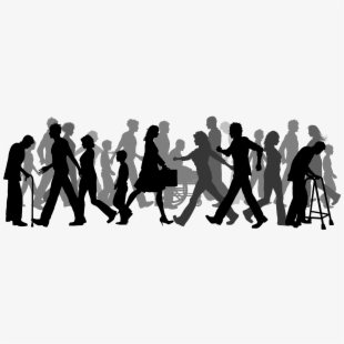 Audience clipart meeting hands stock Crowd Clipart Corporate Person - Crowd People Walking Png #1259999 ... stock