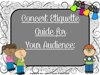 Audience with slideshow free clipart png library download Concert Etiquette (PPT Edition) - A Guide & Slide Show For Your Audience png library download