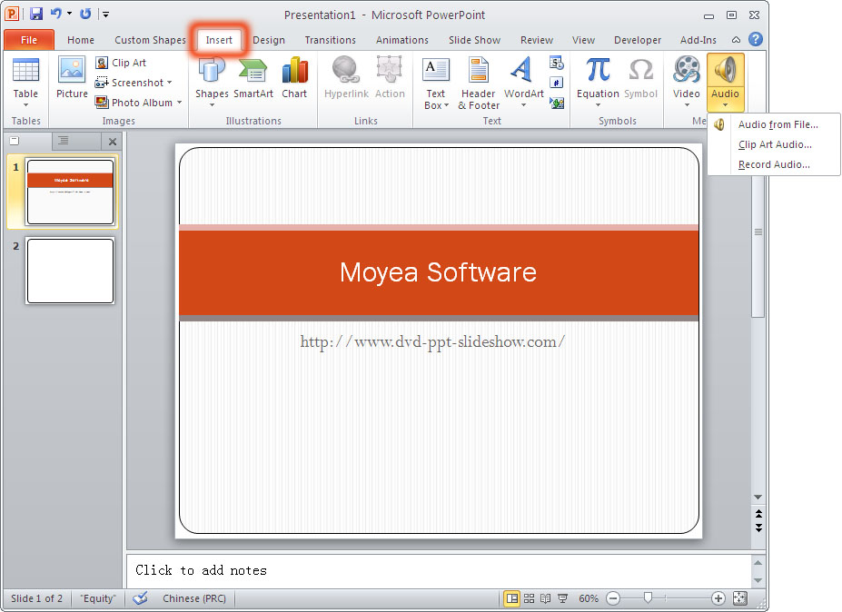 Audio clipart for powerpoint 2010 clip royalty free How to Play a Sound across Multiple Slides in Microsoft PowerPoint ... clip royalty free