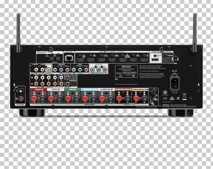 Audio receiver clipart clip free download AV Receiver Denon Dolby Atmos Surround Sound Audio PNG, Clipart ... clip free download