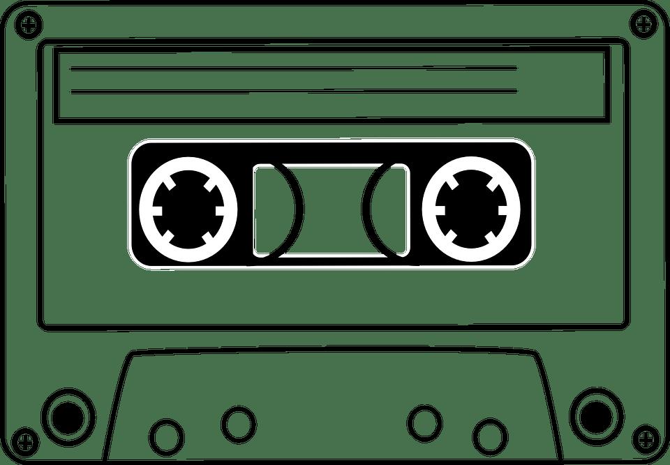 Audio tape clipart royalty free Audio Cassette Clipart transparent PNG - StickPNG royalty free