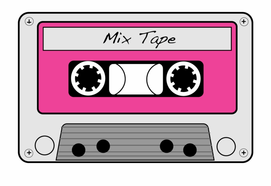 Cassette tape images clipart svg black and white 80\'s Vector Cassette Tape - Cassette Tape Clipart Free PNG Images ... svg black and white