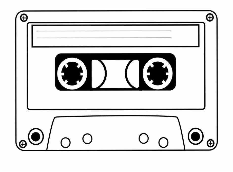 Audio tape clipart clip art transparent stock Cassette Tape Audio Music Sound Vintage Plastic - Cassette Clip Art ... clip art transparent stock