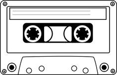 Cassette tape images clipart vector transparent stock Cassette tape clipart | Cassette clip art - vector clip art online ... vector transparent stock