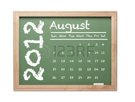 August 2012 calendar clipart vector freeuse stock August 2012 calendar clipart - ClipartFest vector freeuse stock