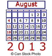August 2013 calendar clipart svg transparent stock August Illustrations and Clip Art. 14,179 August royalty free ... svg transparent stock