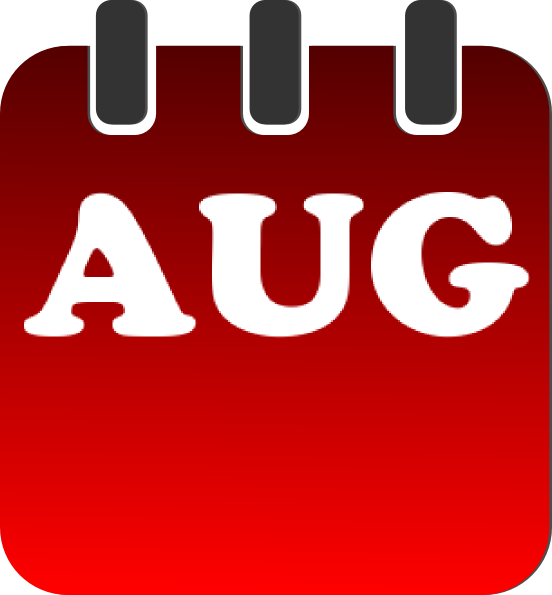 August 2013 calendar clipart picture freeuse download August Calendar Clip Art at Clker.com - vector clip art online ... picture freeuse download