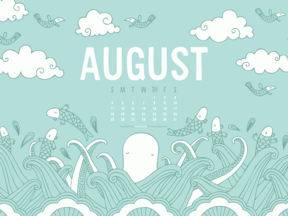 August 2013 calendar clipart picture freeuse stock 1000+ images about Nicole LaRue Illustration & Design on Pinterest ... picture freeuse stock