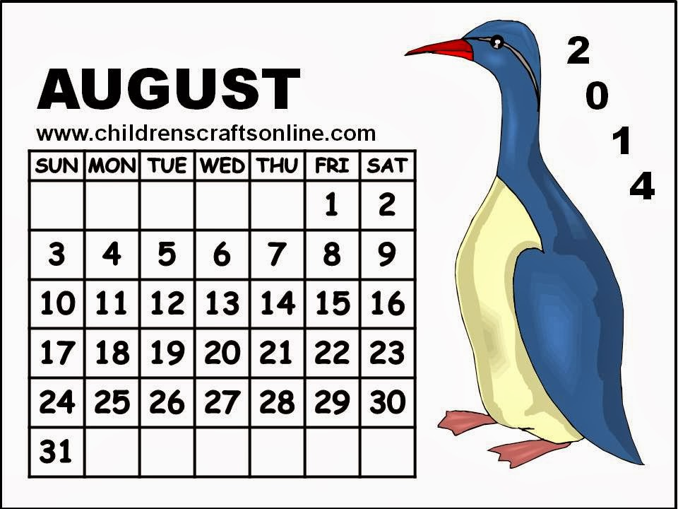 August 2014 calendar clipart banner transparent stock August Calendar Clipart - Clipart Kid banner transparent stock