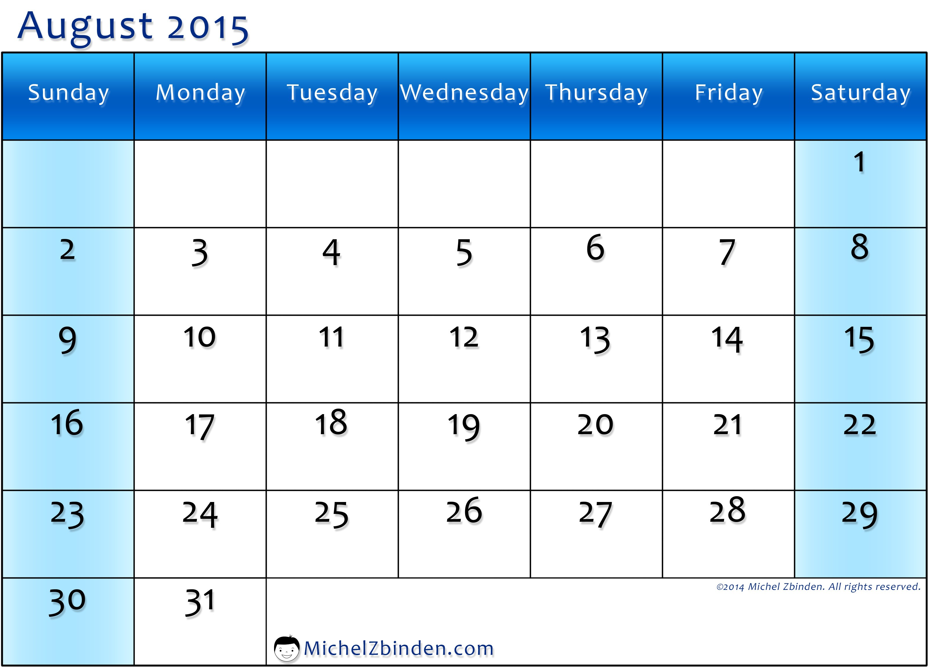 August 2015 calendar clipart picture royalty free download August calendar clipart wallpapers - Clipartix picture royalty free download