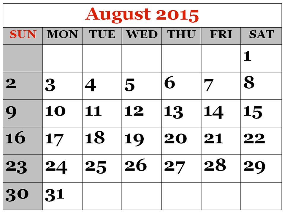 Clipartfest augustcalendarprintable . August 2015 calendar clipart