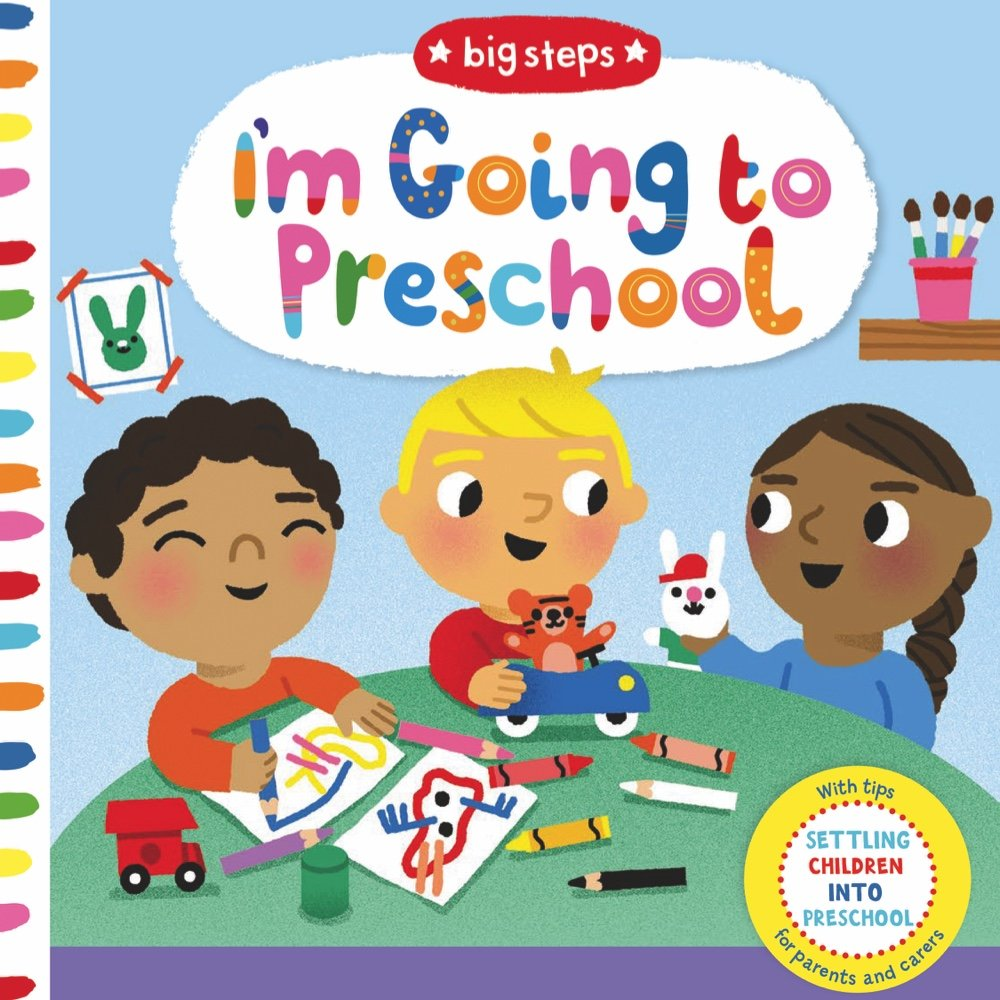 August 2018 preschool clipart clipart black and white library I\'m Going to Preschool (Big Steps): Marion Cocklico: 9781454929482 ... clipart black and white library