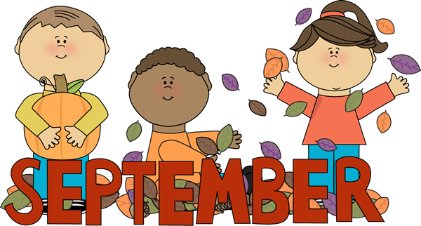 Clipart of september