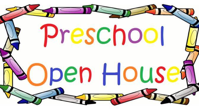 August 2018 preschool clipart png freeuse stock The Center-August Open House – The Center Early Childhood Programs png freeuse stock
