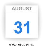 August 31st calendar clipart clip art library August 31 day on the calendar Illustrations and Clip Art. 7 August ... clip art library