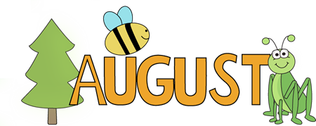 August calendar clipart image library August Nature Clip Art - August Nature Image | Clipped | Pinterest ... image library