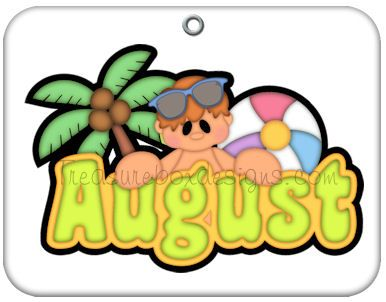 August calendar clipart.  best images about